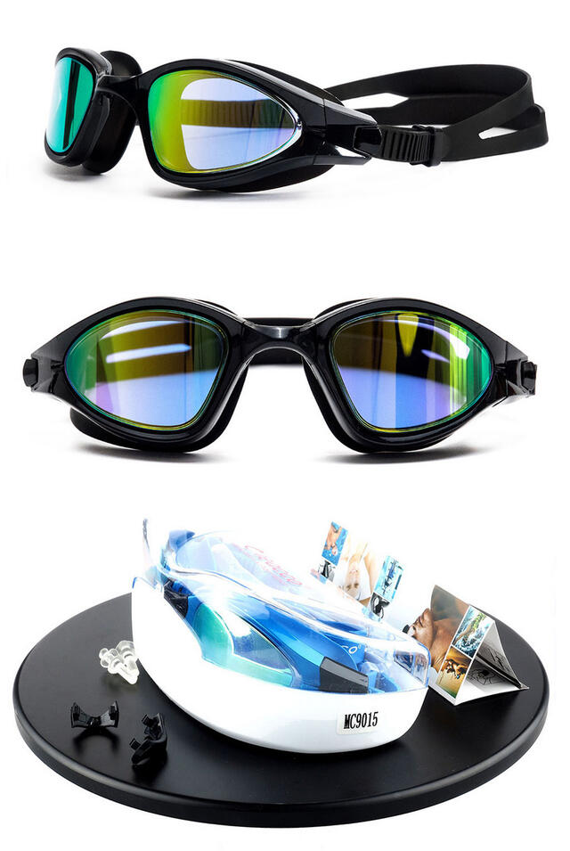 okulary OKULARY PŁYWACKIE ANTI-FOG DO PŁYWANIA NA BASEN