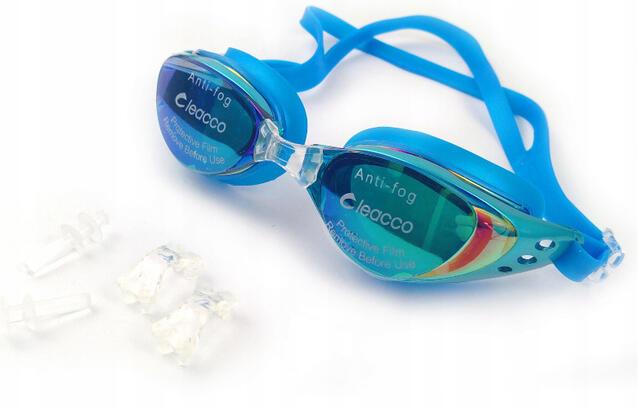 okulary OKULARY PŁYWACKIE OKULARKI NA BASEN 100% ANTIFOG