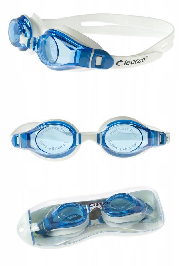 okulary OKULARY PŁYWACKIE DO PŁYWANIA BASEN MASKA ANTI-FOG