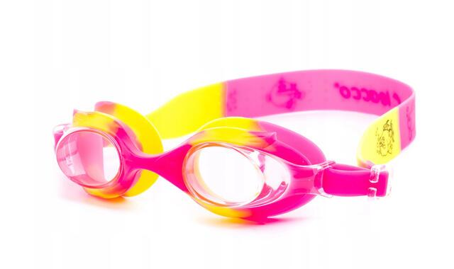 okulary SG-700 KIDS - RÓŻOWY, ŻÓŁTY